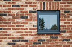 Window 1 (rhfo2o - rick hathaway photography) Tags: wood brick texture window canon reflections kent grain bungalow canoneos7d rhfo2o