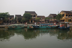 Hoi An waterfront (Bex.Walton) Tags: travel river vietnam hoian oldtown thubon