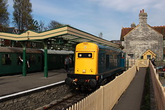 20205 @ Swanage (daveymills31294) Tags: diesel railway class 20 gala swanage 20205