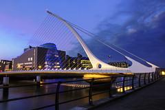 Guinness Bridge (...Iwonttell) Tags: longexposure travel bridge ireland sunset dublin dawn wanderlust guinness liffey explore