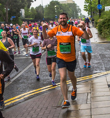 Manchester  2016 Run (24) (alsimages1 - Thank you for 860.000 PAGE VIEWS) Tags: old sun rain manchester fun shower blind tunnel run professional runners trafford runner amateur lowry participants the 2016