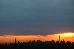 2016May23 (2) (ShellyS) Tags: nyc newyorkcity sunset sky skyline clouds manhattan skylines sunsets