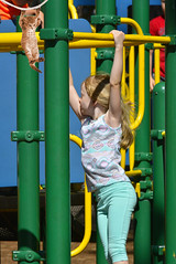 Monkey Bars (swong95765) Tags: playing girl playground kid play young monkeybars