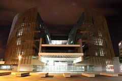 Flicr222015.jpg (Tricfala Photo) Tags: barcelona night noche arquitectura arquitecture centrobiomdico