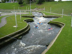 Stockton on Tees, River Tees watersports centre (rossendale2016) Tags: sports water river lost whitewater centre canoes oar olympic canoeing watersports stockton tees capsized rivertees