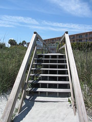 Cocoa Beach, Florida (RS Pictures) Tags: county usa beach america florida united steps boardwalk states cocoa brevard