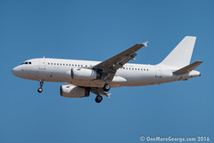 Welcoming the latest addition to the fleet of Olympus Airways (onemoregeorge.frames) Tags: nikon may olympus greece airbus omg ath a319 2016 lgav d40x onemoregeorge sxabe