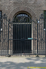 joodse_wijk_10 (Jolande, steden fotografie) Tags: amsterdam nederland synagoge architectuur noordholland tralie joodsewijk