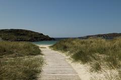 The Boardwalk (StickyToffeeQueen) Tags: beach boardwalk sutherland lochinver achmelvichbeach