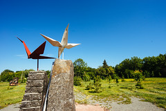 Sadako Sasaki's paper cranes