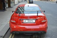 Red Series (Beyond Speed) Tags: mercedes benz amg c63 black series blackseries supercars supercar automotive automobili nikon london knightsbridge spoiler