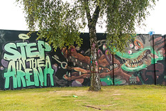 Arsek - Erase (Dutch_Chewbacca) Tags: graffiti berenkuil eindhoven rockcity art 040 noordbrabant netherlands dutch holland spray can colors canon dlsr sigma 23 july 2016 summer saturday weekend pretty street legal arsek erase step arena