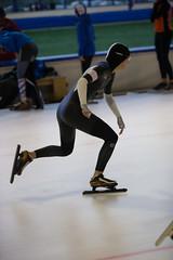 A37W6842 (rieshug 1) Tags: speedskating schaatsen eisschnelllauf skating nkjunioren knsb nkjuniorenallroundafstanden afstanden allround 50010001500massstart demeent alkmaar sportcomplexdemeent juniorenc ladies dames 500m