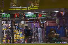 . (Le Cercle Rouge) Tags: paris france night street darkness light glow kid souvenirs memory memories luna park amusement carnival carny carnies foiredutrne boisdevincennes rides attraction reflections melancoly 75012 dream rve ralit reality