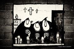 Chrtiens (patoche21) Tags: bastia corse france catholicisme chrtient insolite religion scnederue streetart corsica catholicism christianity christendom dessin drawn croix cross patrickbouchenard personnage character humour humoristique humor humorous