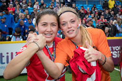Homeless World Cup 2016 (Homeless World Cup Official) Tags: hwc2016 homelessworldcup aballcanchangetheworld thisgameisreal streetsoccer glasgow soccer celebration award ceremony medals chile netherlands scotland