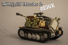 Sdk.fz_131 Marder 2 -REBUILT- (kr1minal) Tags: lego moc diorama tank war world ww2 2 ii brickmania model nazi german wehrmacht