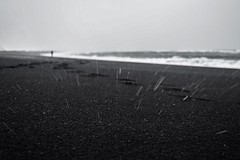 I Found [Explore] (FufBea) Tags: wind winter nikond5500 focus waves rain sand islanda iceland vik vikimyrdal storm beach sea blacksand