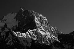 Karpogoro: Shadows on Pamshe Peak (Shahid Durrani) Tags: karakorams karakoram biafo glacier baltistan pakistan