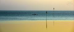Meeting before sunrise (MaiGoede) Tags: seascape northsea nordsee nordseekste landscape landschaft ammeer fedderwardersiel butjadingen wesermarsch wesermndung nikon golden