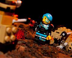 Dalek Killer! (Chris Blakeley) Tags: doctorwho dalek daleks cyborg lego minifigure minifig minifigures toys toyphotography