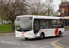 West Midlands Special Needs Transport KX08 OML - Enterprise Plasma (Retroscania!) Tags: bus buses igo primo publictransport westmidlands minibus westbromwich wednesbury plaxton enterpriseplasma ringride westmidlandsspecialneedstransport