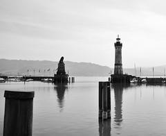 Lindau (CA_Rotwang) Tags: old lake germany island bayern deutschland bavaria see town insel bodensee altstadt
