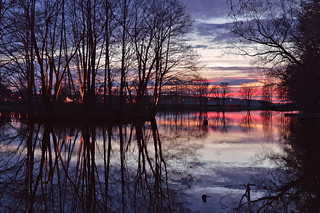 Reflections... After sunset  (Explored May 2, 2015 #128)