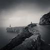 After Rain (sebistaen) Tags: sea white black flickr gibraltar ligthhouse sebistaen