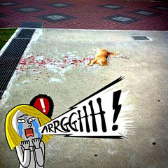 by เรื่องสยองสองบรรทัด @ sayong2buntud  หัดมีความรับผิดชอบบ้าง วันหน้าวันหลังทำสีหกเมิงก็ช่วยเช็ดด้วยสัด กูตกใจมาก   ส่วนแมว เมิงไปนอนตรงอื่นด้วยนะครัช!!!  ---------------------------------------------------- กุก็ตกใจ อิแมวเอ๊ยยยยยยยยยยยย  https://twitte