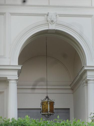 um 1874/75 Berlin Eingangsleuchte Bankiersvilla Heinrich Leo von Walter Kyllmann/Adolf Heyden Colonie Alsen Am Großen Wannsee 5 in 14109 Wannsee in Zehlendorf