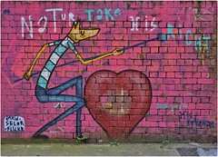 Natur Take His Right and Soon His Revenge ... (junepurkiss) Tags: streetart london shoreditch