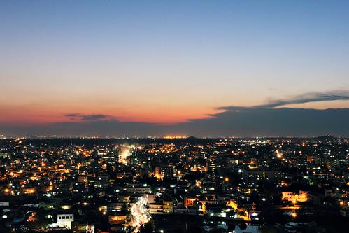 Sunset  Hyderabad