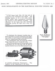 General Electric Christmas Lighting Developments from 1920 (JeffCarter629) Tags: ge c6 generalelectric generalelectricchristmas gechristmas gechristmaslights generalelectricchristmaslights gereview arborlux