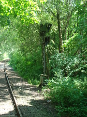 Along lost Lines - Germany - Kleve (railasia) Tags: archaeology germany north db signal infra 2015 kleve rhinewestphalia grenzlanddraisine