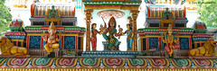Temple Entrance View (devmunuswamy) Tags: india architecture buildings outdoor sigma temples colourful chennai tamilnadu merrill stoneart hindugods templeart templesofsouthindia sigmadp2 ©devmunuswamy