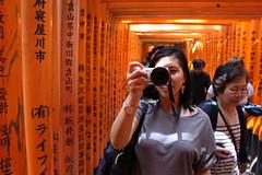 Japan 2016 - Day 3 - Fushimi Inari (Space Pirate Queen) Tags: travel japan kyoto jiannejapan