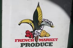 French Quarter - Vieux Carr (Flagman00) Tags: fruit logo french market neworleans vegetable frenchquarter fleurdelis thequarter vieuxcarr lanouvelleorlans