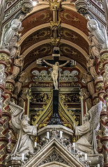 Finally managed a visit to Ushaw College after being inspired by Alan Howe's photographs. This one is a close up of the Alter in St. Cuthbert's Chapel. (Durham George) Tags: chapel priest cuthbert alter seminary vicar