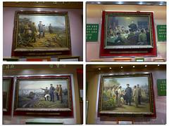 Pictures of Kim Il-Sung, Military Museum (Daniel Brennwald) Tags: museum northkorea dprk militarymuseum kimilsung nordkorea koreawar pyongsong militarysite