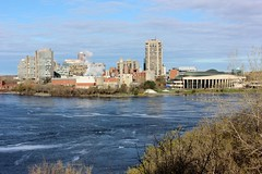 Gatineau in the Spring (Caleb Ficner) Tags: spring ottawa gatineau ottawariver museumofhistory outaouais kitchissippi calebficner