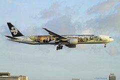 """Special Livery, Air New Zealand - """"The Hobbit"""", Boeing 777-300ER (Ron Monroe) Tags: boeing lax airlines 777 airnewzealand airliners thehobbit klax zkokp"""