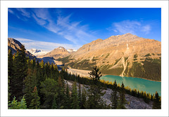Source Of Inner Peace (clark_monson) Tags: alberta banffnationalpark peytolake canadianrockies bowsummit peytoglacier caldronpeak peytopeak caldronfalls