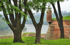 La forteresse de Belgrade (Vincent Rowell) Tags: trees river raw serbia belgrade fortress danube sava photodujour tonemapped balkans2016