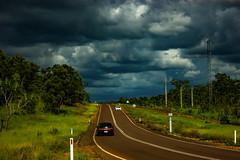 Batchelor Road (betadecay2000) Tags: road street clouds shower wasser wasserfall outdoor strasse feld himmel wolke wolken australia darwin thunderstorm australien northern landschaft gewitter strom thunder territory australie thunderstorms sturm austral schauer downburst strase stroms gewitterwolken