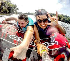 Hurry Up Summer (AngelBeil) Tags: watersports tubing jetski airhead gopro
