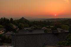 (skycat1962) Tags: sunset japan canon landscape eos nara tamron   todaiji   nigatsudo  a007 5dmarkiii