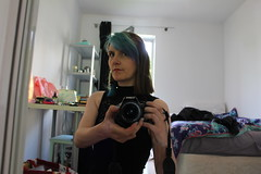 20th May 2016 (lucyphotography) Tags: blue me hair mirror hi selfie