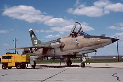F-105B Thunderchief 57-829 of the 141st TFS/108th TFG NJ ANG (JimLeslie33) Tags: new fighter republic nj jersey ang thud usaf 141 108 mcguire afb tfs tfg f105 thunderchief 57829 141st f105b