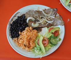 Comida in Sola de Vega Oaxaca (Ilhuicamina) Tags: food mexicana lunch eating comida mexican oaxacan tasajo soladevega